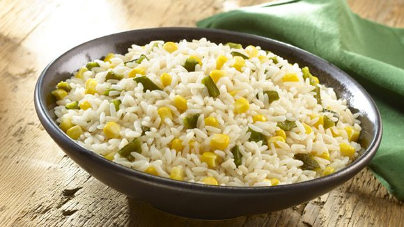 receta arroz blanco