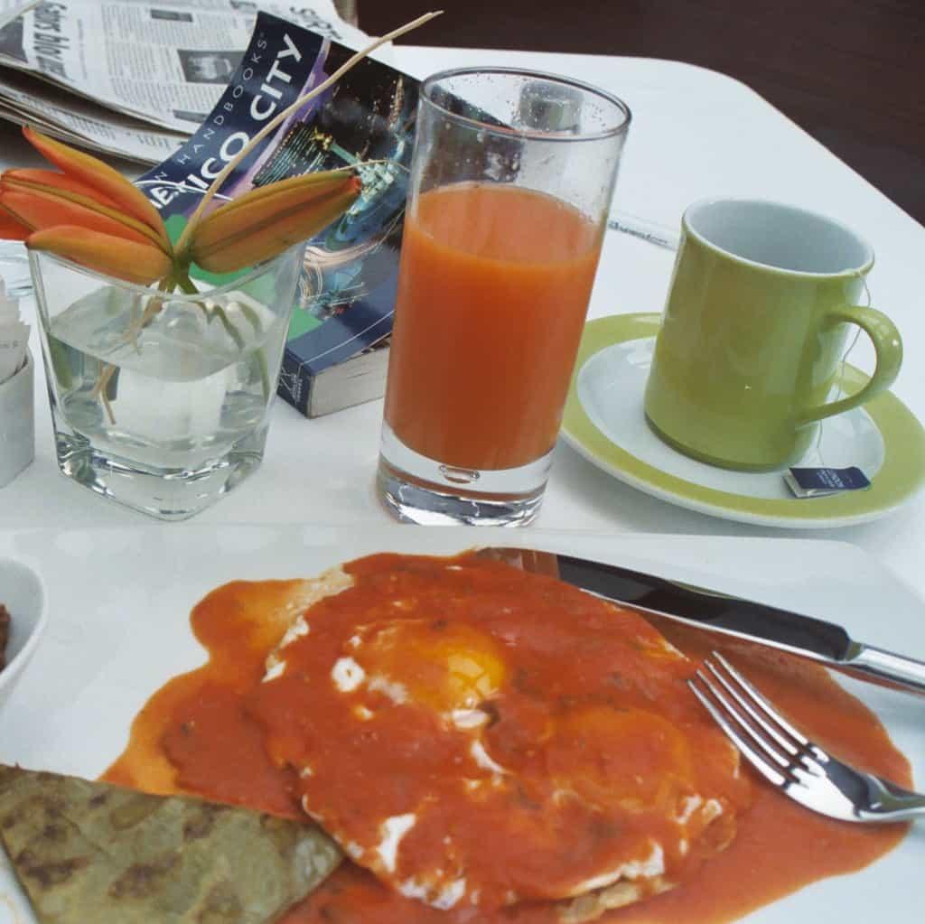 Huevos rancheros, Ciudad de México
