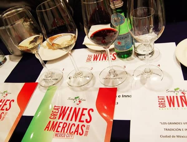 Simply Italian Great Wines Americas Tour Mexico City