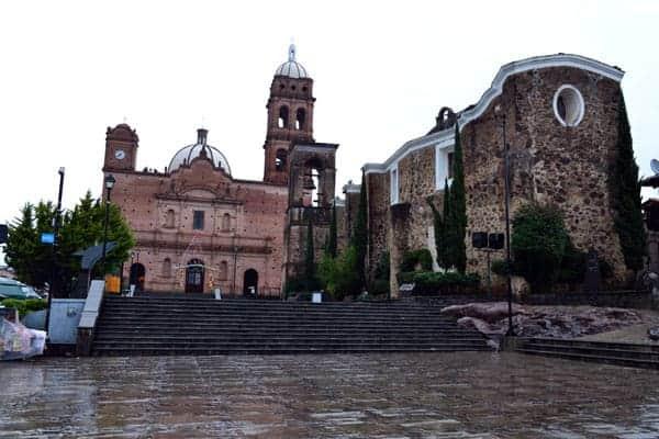 Iglesia San Antonio de Padua, Tapalpa, Jalisco. Los Sabores de México