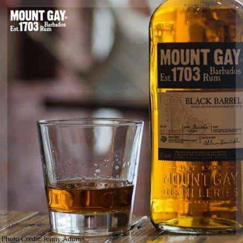 BLACK BARREL, Mount Gay Ron, Rum
