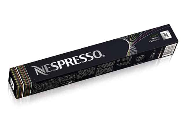 Liminto limited edition, Nespresso