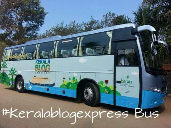 #Keralablogexpress bus, Kerala, India