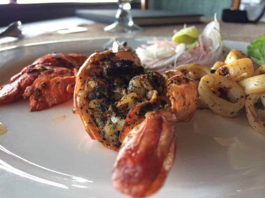 Plattier of grill, Vivanta by Taj Malabar Hotel