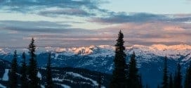 Morning views from Blackcomb, Tourism Whistler / Mike Crane