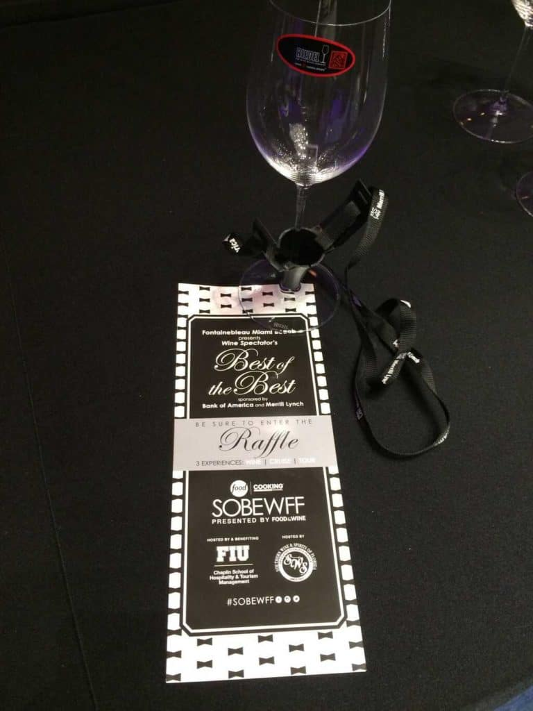 Wine Spectator´s Best of the Best, Food Network South Beach Wine and Food Festival, Miami