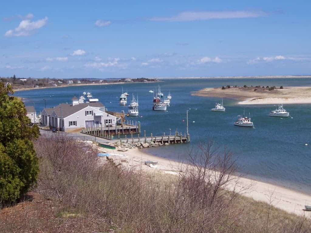 Cape Cod Massachusetts CHATHAM HARBOR