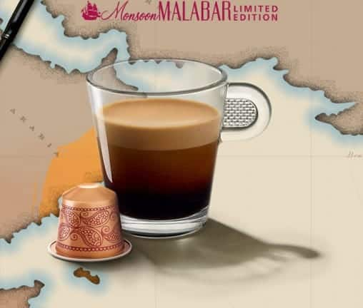 Monsoon Malabar Limited Edition, Nespresso