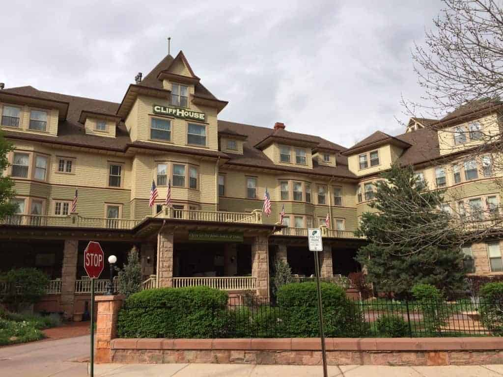 The Cliff House at Pikes Peak Hotel, Manitou Springs, Colorado
