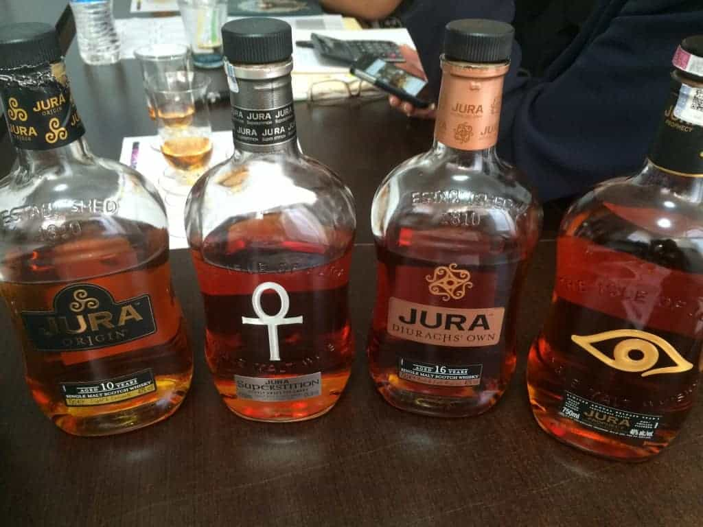 Jura Single Malt Scotch Whisky