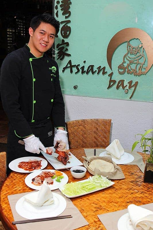 Chef Luis Chiu, restaurante Asia Bay