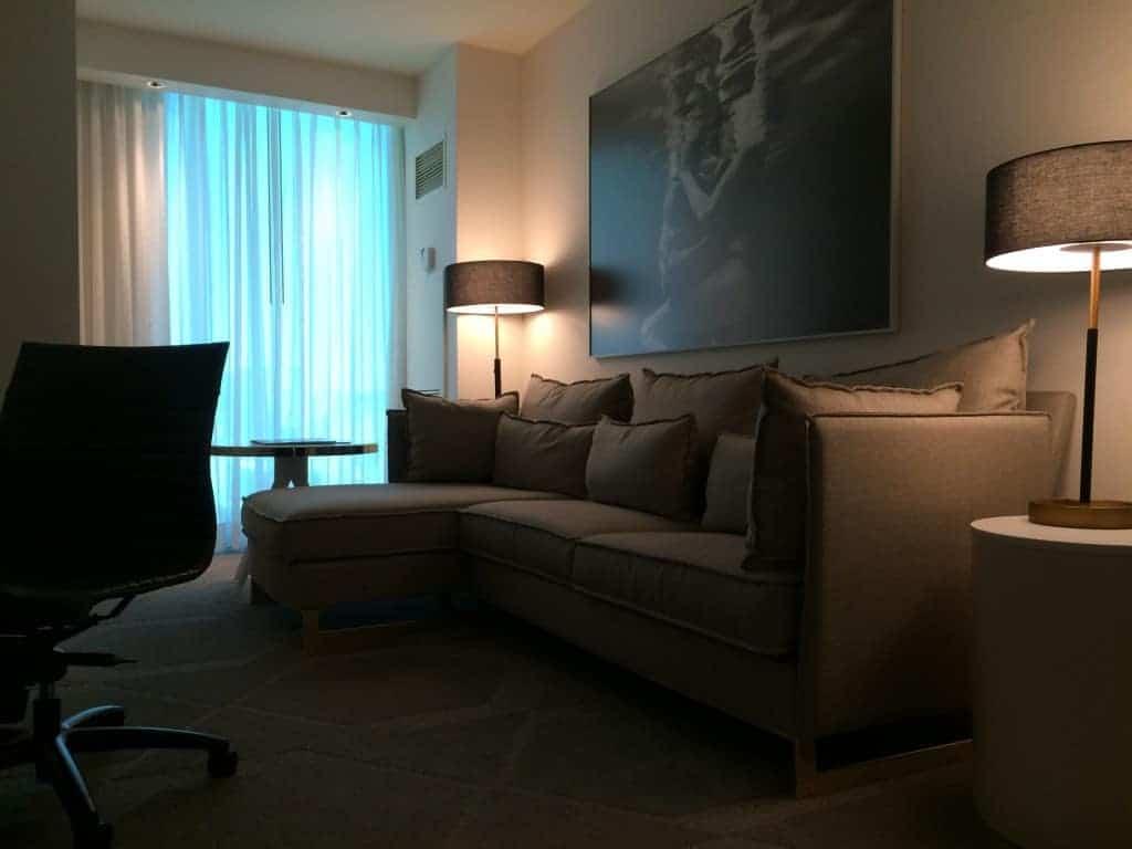 Sala de estar, Delano Las Vegas Hotel, Las Vegas Nevada