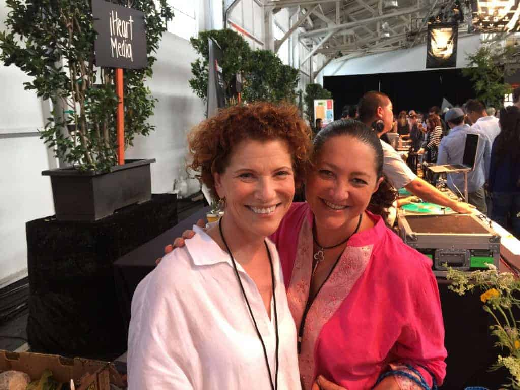 Con la famada chef Joanne Weir en Eat Drink SF