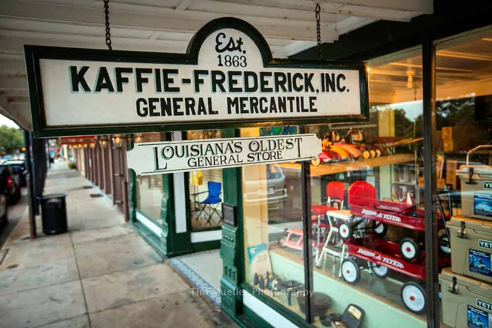 The Kaffie-Frederick, Inc, Natchitoches, Louisiana.