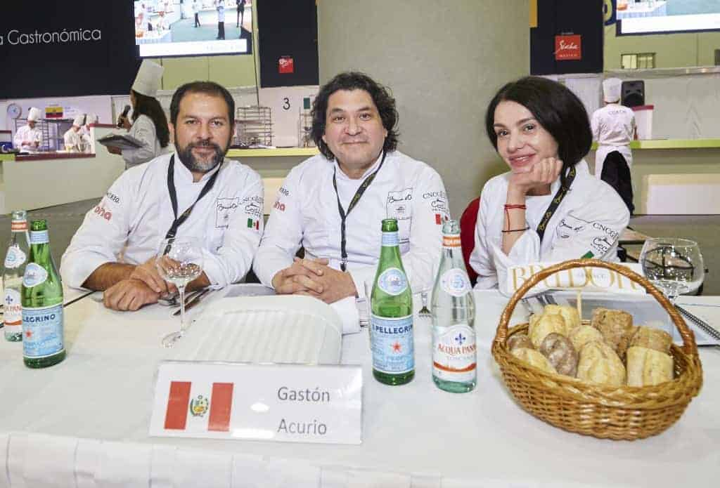 Jueces del Bocuse d´Or en México