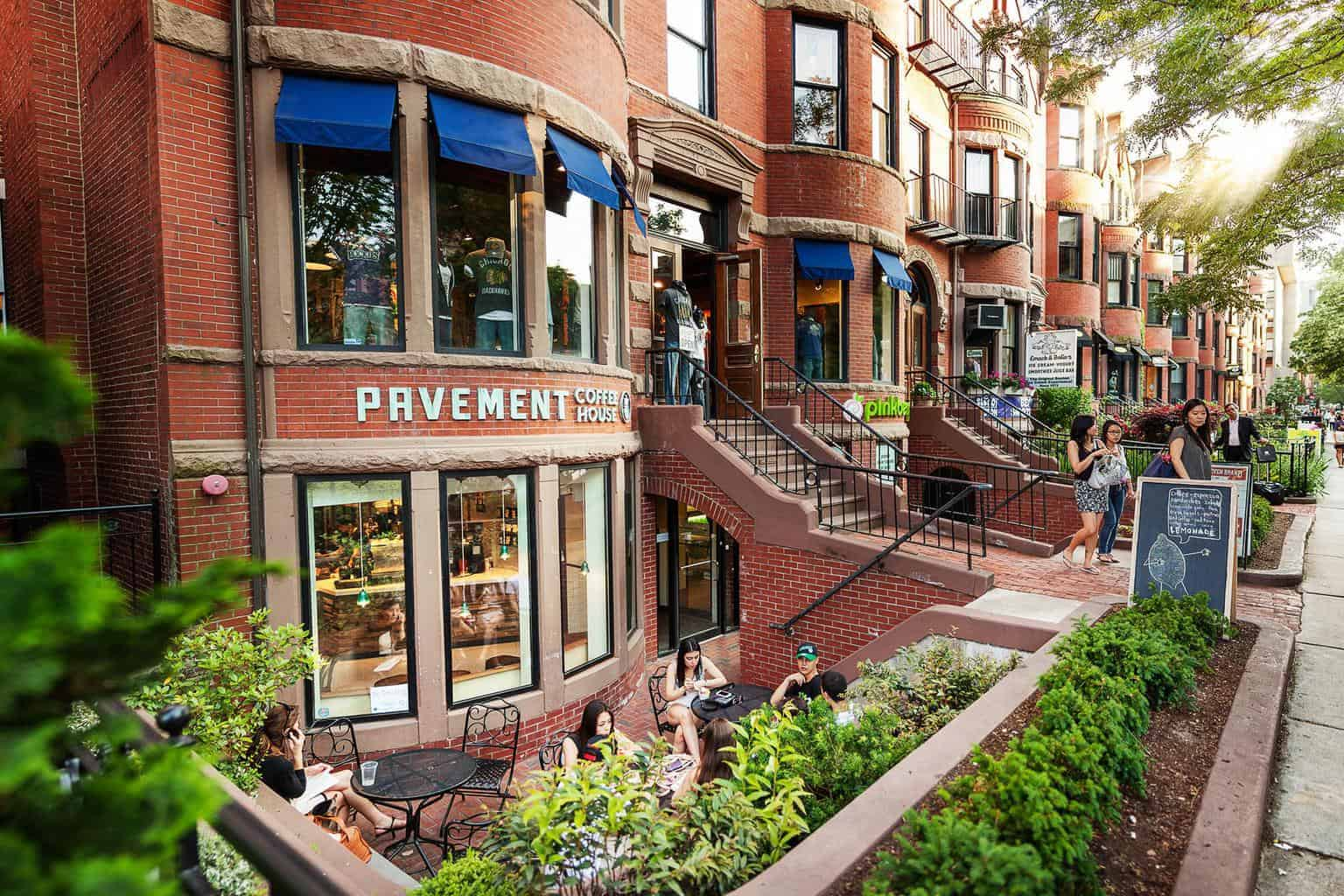 Cafe Newbury Street Boston