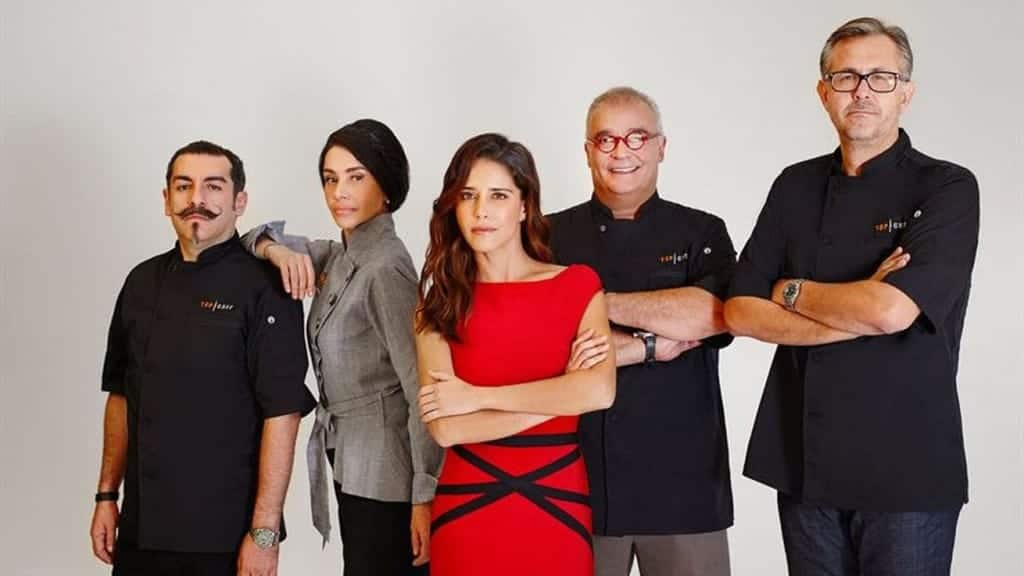 Jueces y conductora de Top Chef Mexico