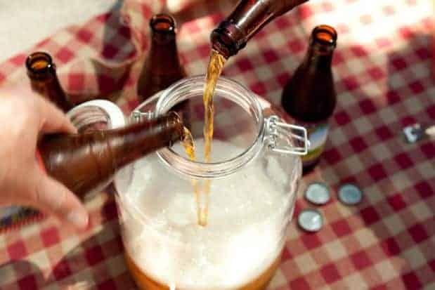 Receta Ponche de Cerveza y Piña