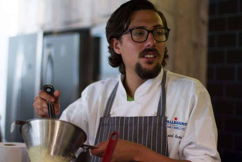 Chef Daniel Nates SPellegrino Young Chef