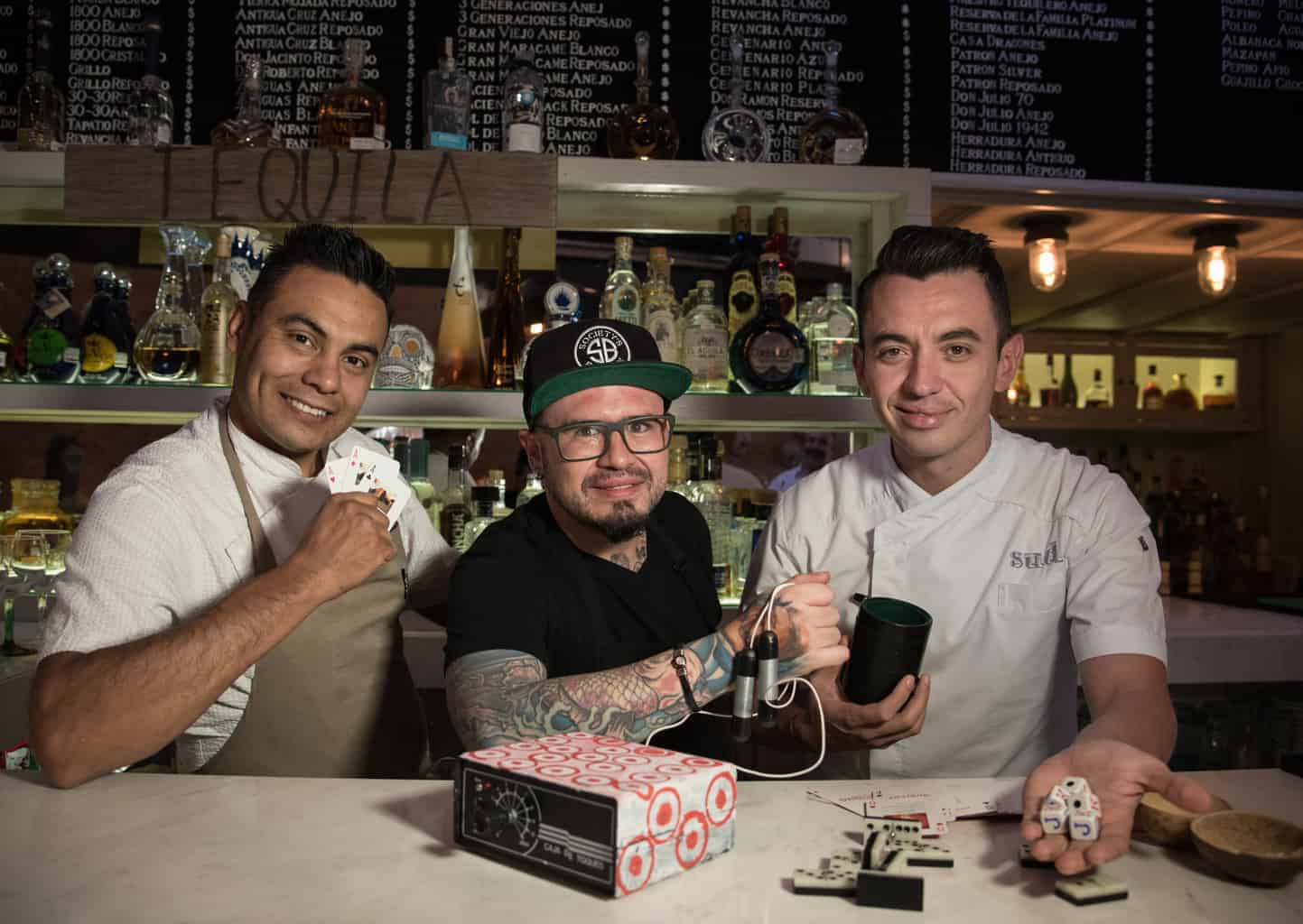 Tres grandes chefs intercambian sus men s botaneros en for Comedor jacinta polanco