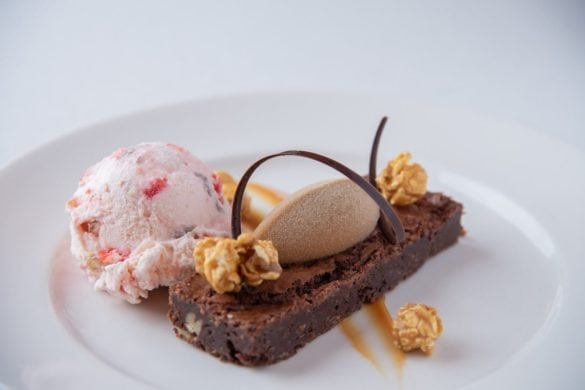 brownie receta original Palmer House Chicago